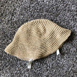 Baby Gap | Straw Floppy Sun Hat - 0-6M